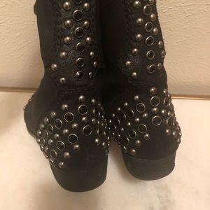 Shoes - Fabulous Bling Combat Boot